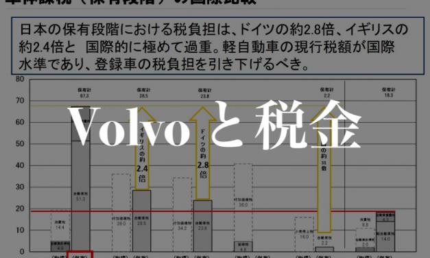 【Volvo と税金】New V60 を買うとかかる付帯費用公開