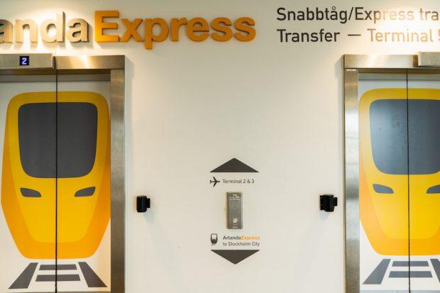 【交通機関情報】最も楽なスウェーデンアーランダ空港からストックホルム中央駅への行き方は!?