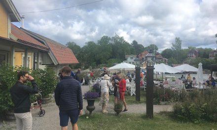 【ストックホルム一のカフェ!?】Vaxholms Hembygdsgårds Café で大海原と群島をのぞむ