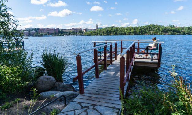 【脱混雑】ストックホルムで絶対歩くべき海沿い散歩道 Norr Mälarstrand
