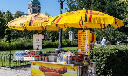 【路上の軽食】物価の高いスウェーデンの街角で食べられる安飯は!?