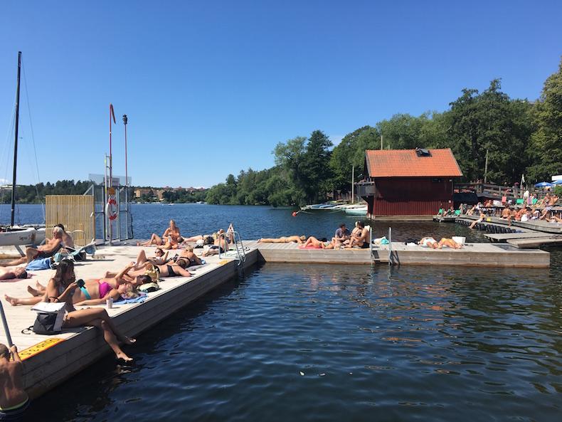 【スウェーデン留学生必見】ストックホルムのおすすめビーチ3選