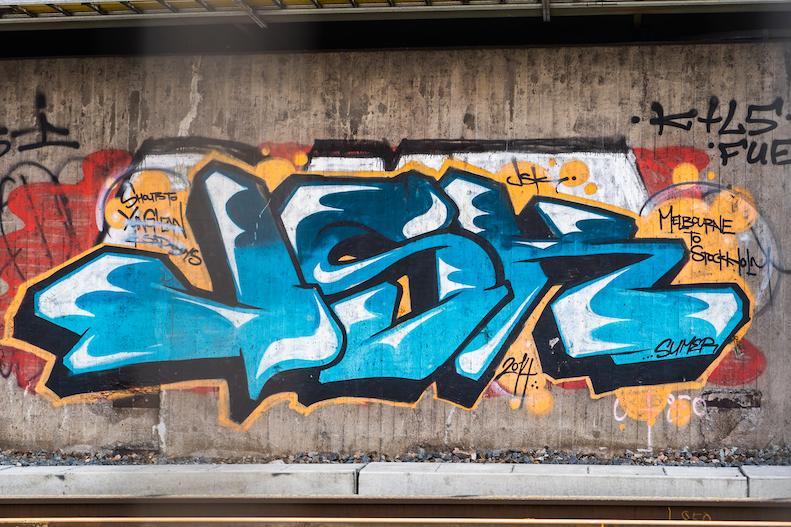 【Grafitti】スウェーデンのグラフィティ(ストリートアート)事情
