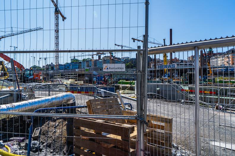 【北欧の建設現場】おしゃれな国スウェーデンの建設現場の様子